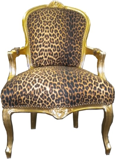 barock salon stuhl leopard gold st hle salon st hle mod1. Black Bedroom Furniture Sets. Home Design Ideas