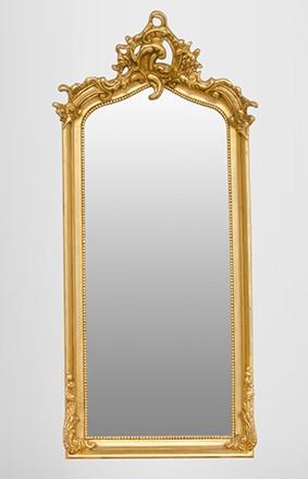 casa padrino barock spiegel gold 115 x 48 cm spiegel. Black Bedroom Furniture Sets. Home Design Ideas