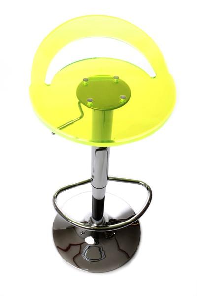 Casa padrino designer acrylic bar stool fluorescent for Barhocker plexiglas
