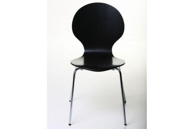 Casa padrino designer stuhl form schwarz 14 designer st hle for Design stuhl form