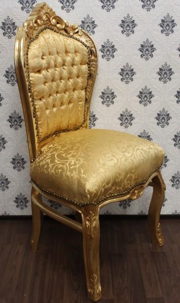 casa padrino barock esszimmer stuhl gold muster gold barock m bel antik stil luxus st hle. Black Bedroom Furniture Sets. Home Design Ideas