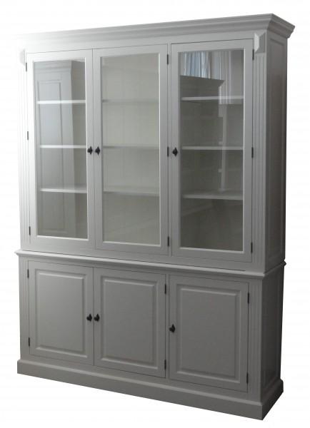 gro er shabby chic landhaus stil schrank mit 4t ren. Black Bedroom Furniture Sets. Home Design Ideas