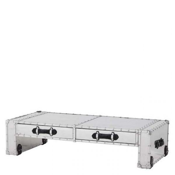 casa padrino couchtisch vintage metal aluminium mod2. Black Bedroom Furniture Sets. Home Design Ideas