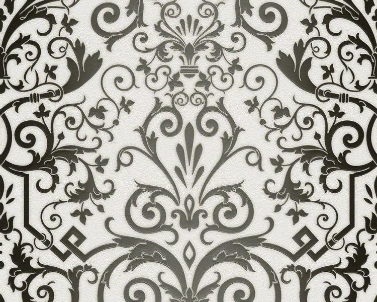 versace designer barock tapete home collection 935452 jugendstil vliestapete vlies tapete wei. Black Bedroom Furniture Sets. Home Design Ideas