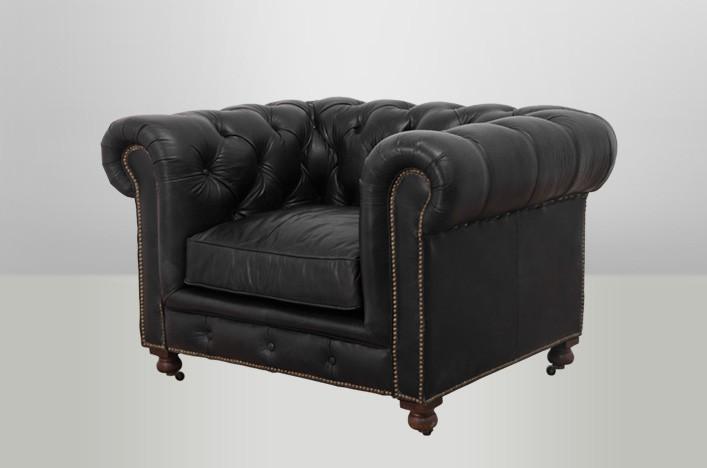 chesterfield luxus echt leder sessel vintage leder von. Black Bedroom Furniture Sets. Home Design Ideas