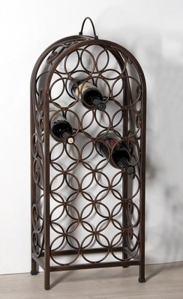 casa padrino designer weinregal aus metall f r 20 flaschen. Black Bedroom Furniture Sets. Home Design Ideas