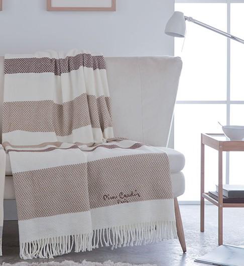 Pierre cardin designer luxus decke samtweich 140 x 180 cm schlafzimmer wohnzimmer tagesdecke - Tagesdecke schlafzimmer ...