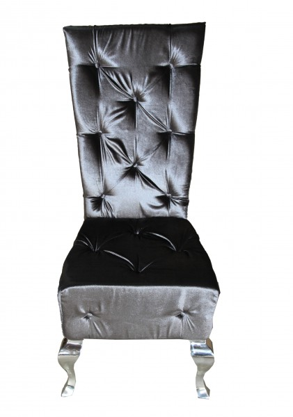 casa padrino barock esszimmer stuhl grau silber designer stuhl luxus qualit t hochlehner. Black Bedroom Furniture Sets. Home Design Ideas