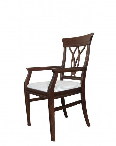 casa padrino biedermeier esszimmer stuhl mit armlehne. Black Bedroom Furniture Sets. Home Design Ideas