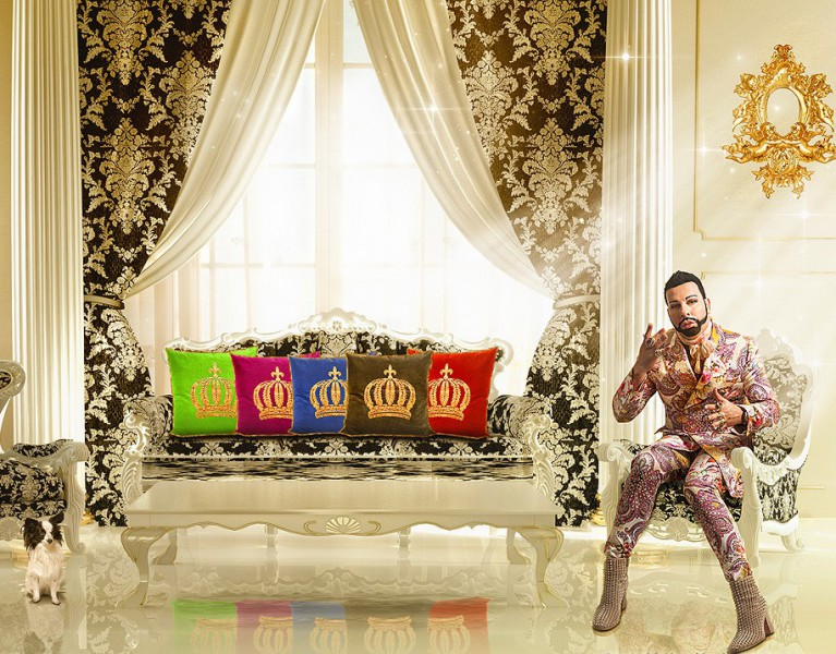 wohnzimmer gold schwarz » Inspirierende Bilder von Wohnzimmer und ...