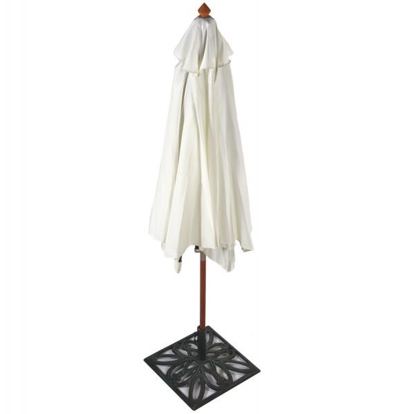casa padrino vintage sonnenschirm ohne st nder creme aus indonesischem hartholz durchmesser. Black Bedroom Furniture Sets. Home Design Ideas