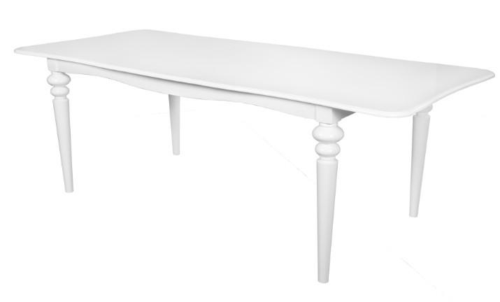 Esstisch Barock Weiß ~ Casa Padrino Barock Esstisch Weiss ausziehbar 180  230 cm  Tisch Casa Padri