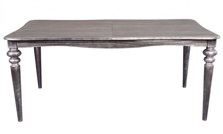 casa padrino barock esstisch silber anthrazit ausziehbar 180 230 cm tisch esstische barock. Black Bedroom Furniture Sets. Home Design Ideas