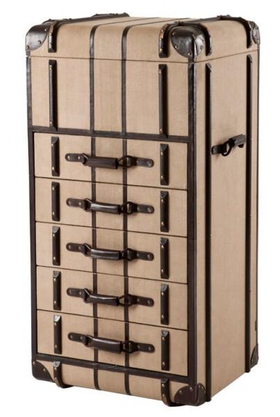 Casa Padrino Luxus Schubladen Schrank im Vintage Koffer Design ...