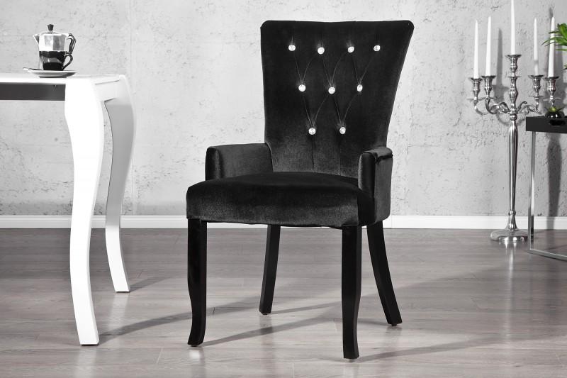 casa padrino luxus esszimmer stuhl mit armlehnen und. Black Bedroom Furniture Sets. Home Design Ideas