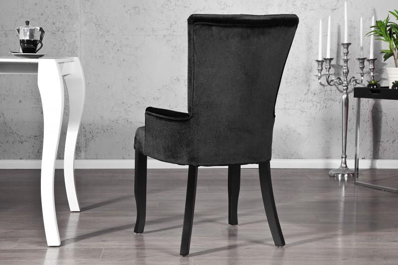 Casa Padrino Luxus Esszimmer Stuhl mit Armlehnen und ...