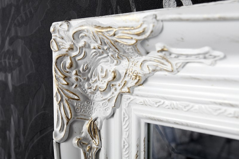 wandspiegel barock wei gold mit konsole antik. Black Bedroom Furniture Sets. Home Design Ideas