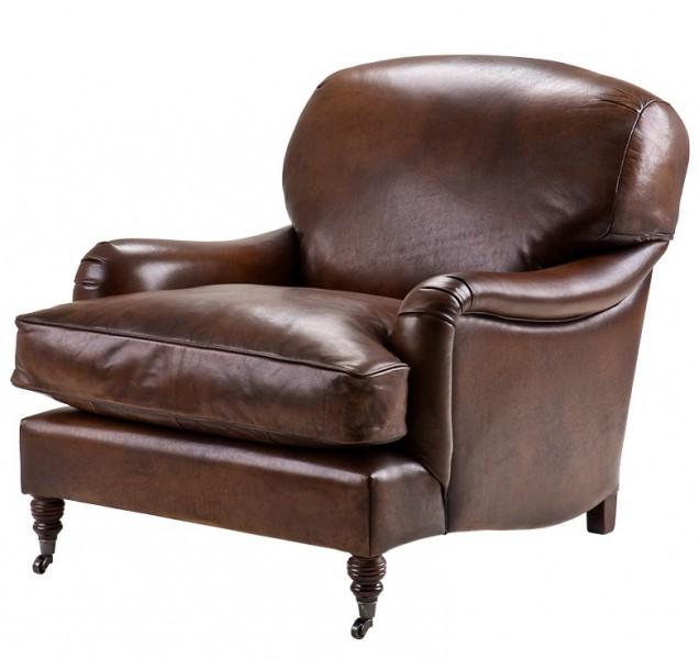 Chesterfield luxus echt leder ohrensessel vintage leder for Ohrensessel union jack